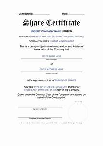 share certificate template australia image collections With share certificate template australia