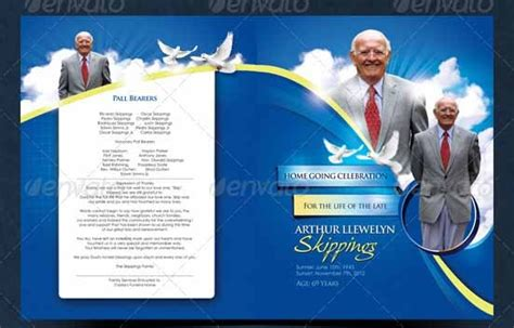 sample funeral programs templates   word