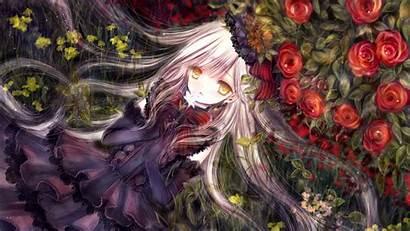 Vocaloid Mayu Anime Wallpapers Zerochan Backgrounds Flower
