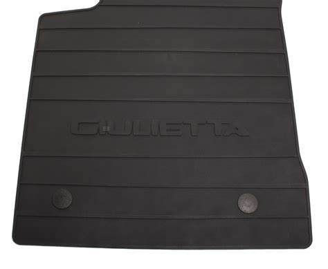 Original Alfa Rubber Floormat Set