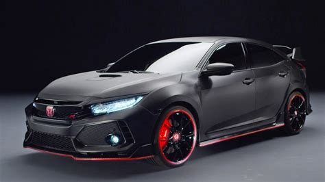trailer rs 2018 honda civic type r prototype official trailer