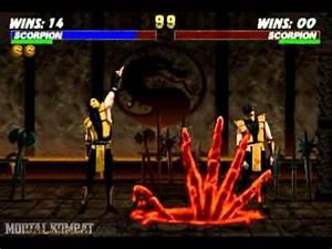 Mortal Kombat Trilogy - Saturn - Scorpion - Fatality 1 ...