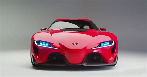 Toyota Ft1 Concept Car