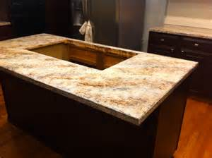 Where To Put Knobs On Kitchen Cabinets by Faux Sho Painted Granite Countertops Scharlerama