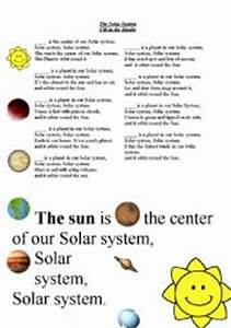 Solar System Song For Preschoolers
