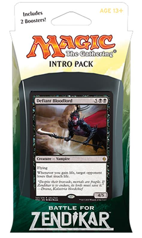 battle for zendikar event deck and intro packs magic the gathering