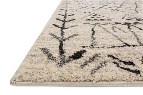 loloi emory eb  heather gray black rug
