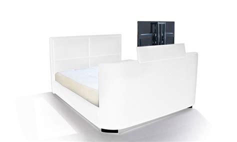 pied de tele pied de tele lit multimdia intgrant un pied de lit avec un systme de relevage cran tv plat mont