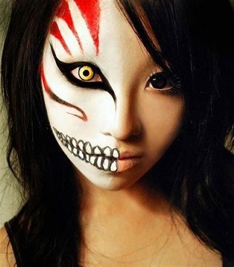 Maquillage d'Halloween 10 idées originales