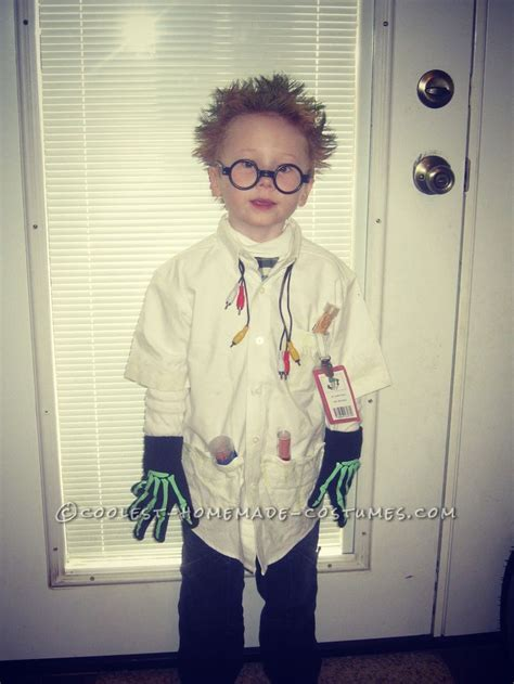 Cool Mad Scientist Costume for a Boy | Halloween costumes for kids Kid and Halloween costumes
