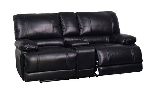 Black Microfiber And Loveseat by Black Printed Microfiber Console Reclining Loveseat The
