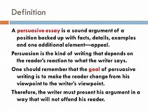 Essay About Persuasion Meaning Of Assigned Persuasive Techniques