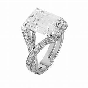 van cleef arpels quotsolitairequot 645 carat emerald cut With van cleef wedding ring