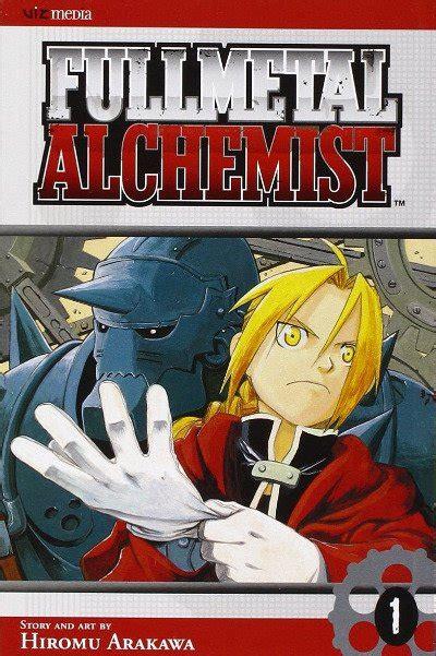 fullmetal alchemist manga anime planet