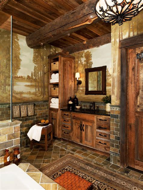 Pics Of Rustic Bathrooms by Ideas Of Bathroom Vanities Work Great In Bathroom And