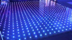 for floor illuminated led pixel rgb visualisation floor
