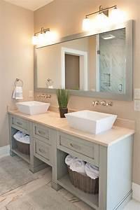 Wohnen In Grün : badezimmer im modernen landhausstil hampton style gr n ~ Michelbontemps.com Haus und Dekorationen