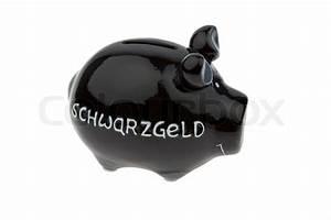 Sparzinsen Berechnen : ein sparschwein f r schwarzes geld isoliert auf wei em ~ Themetempest.com Abrechnung