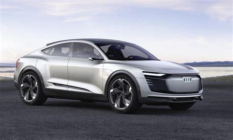 Audi Etron Sportback Concept Debuts At Shanghai Show