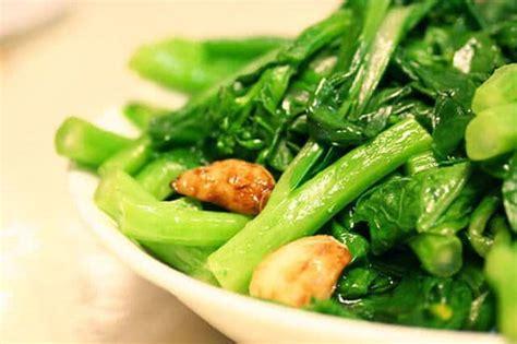 chinese greens yu choy stir fry steamy kitchen recipes