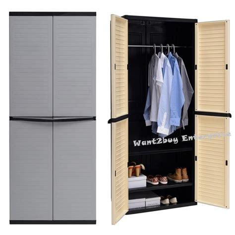 Plastic Wardrobe by Optimus Large Wardrobe 2 Door 3 Tie End 5 30 2020 12 15 Am
