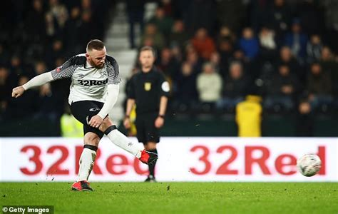 Derby County 4-2 Northampton Town: Wayne Rooney scores to ...