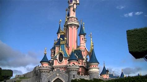 sleeping beauty castle disneyland paris august