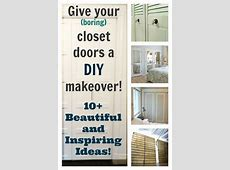 DIY Closet Doors 10+ Beautiful and Inspiring Ideas
