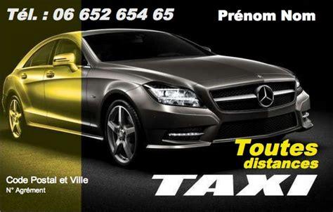 modele carte de visite taxi carte de visite chauffeur taxi mod 232 le gratuit 224 imprimer