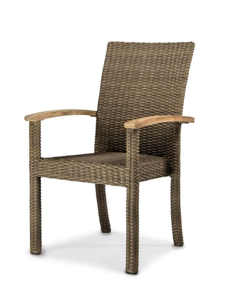pacific arm chair teak table outdoor