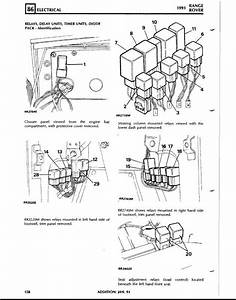 exact location of a c heater relay on 91rrc land rover With 2003 range rover l322 general fuse box car wiring diagram