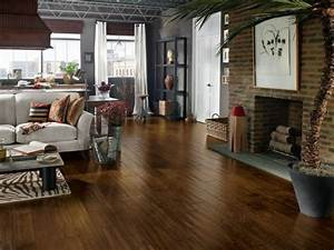 Top living room flooring options hgtv for Best brand of paint for kitchen cabinets with art for apartment walls