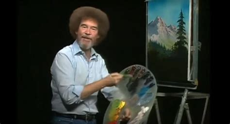 Bob Ross' Color Palette In Css