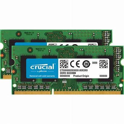 8gb Crucial 4gb Ddr3 Sodimm Pc3 Memory