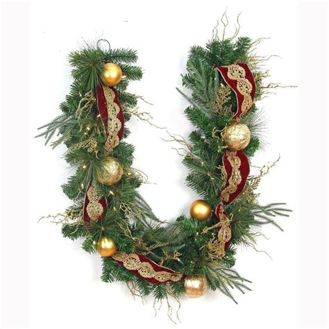 home accents holiday 6 ft led pre lit valenzia artificial