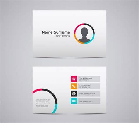 psd  card template professional design template