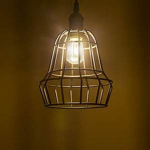 Led vintage light bulb s sign w filament