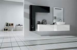 enchanteur meuble salle de bain design double vasque avec With salle de bain design avec pose vasque salle de bain