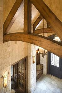 entry exposed beam Dream Houses Pinterest