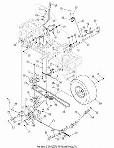 Mtd 13an791g755  2005  Parts Diagram For Drive