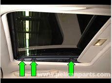 BMW E46 sunroof repair , sunshade delete YouTube