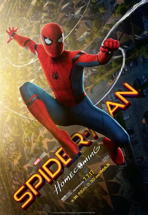 spider man homecoming final poster cosmic book news