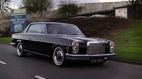 Mercedes benz 250ce (w114) coupe. Gangster Mercedes W114 diesel! | Car Culture UK - YouTube