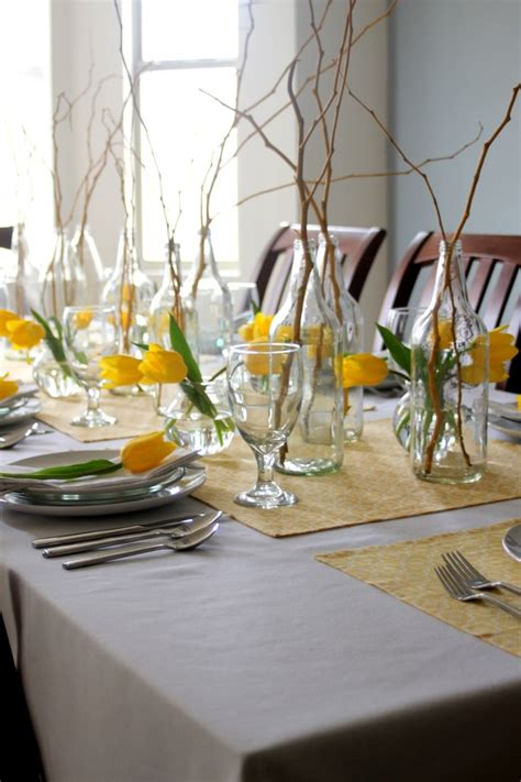 stylish  inspirig spring table decoration ideas