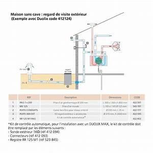 Ventilation Naturelle D Une Cave : kit puits canadien pour vmc duocosy hr maison sans cave ~ Premium-room.com Idées de Décoration