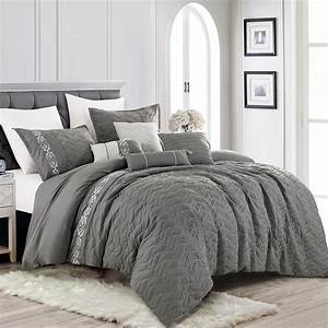 7, Piece, Bedding, Comforter, Set, Luxury, Bed, In, A, Bag, King