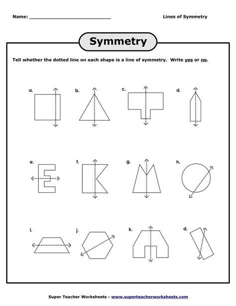 Lines Of Symmetry Worksheets  Lines Of Symmetry Worksheet  Pdf  Checklist Symmetry