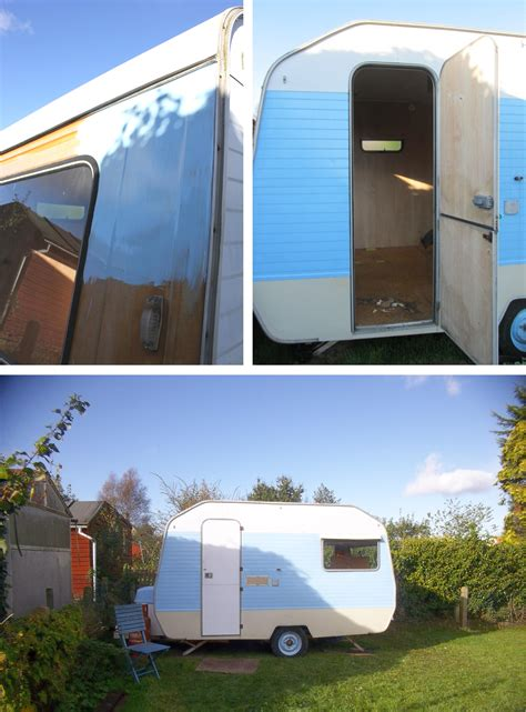 my little vintage caravan project a fresh start with a new