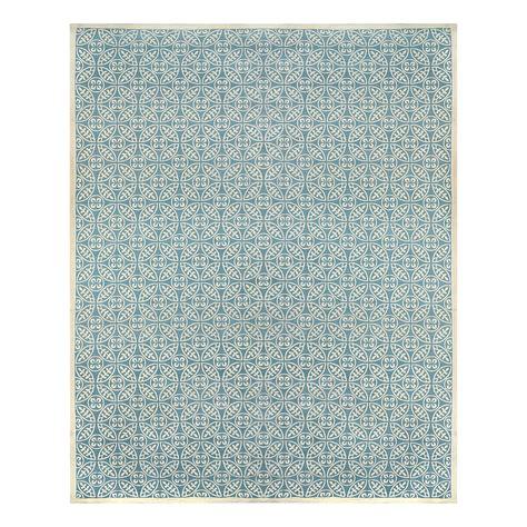 allen roth rugs shop allen roth blue rectangular indoor woven area rug common 8 x 10 actual 8 ft w x 10 ft