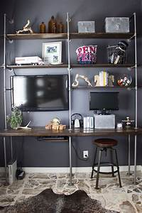 DIY Industrial Pipe and Wood Shelves - Tips and Tricks